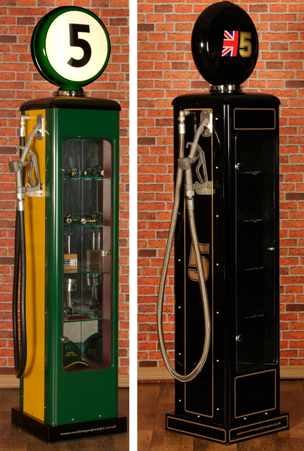 MERCHANDISE LOTUS Gas-pump-display-cabinet-534-p
