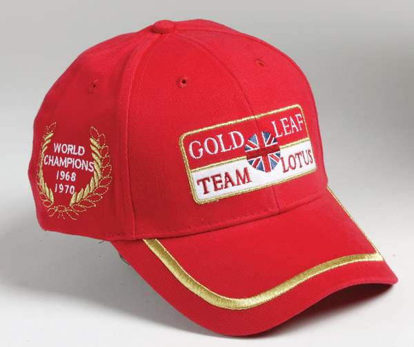 MERCHANDISE LOTUS Gold-leaf-team-lotus-cap-360-p