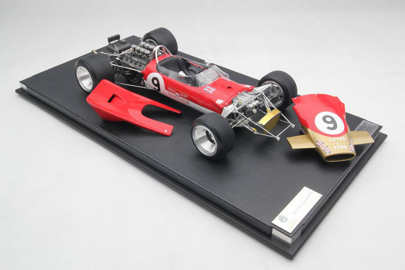MERCHANDISE LOTUS Gold-leaf-team-lotus-type-49b-1-8th-scale-amalgam-model-149-p