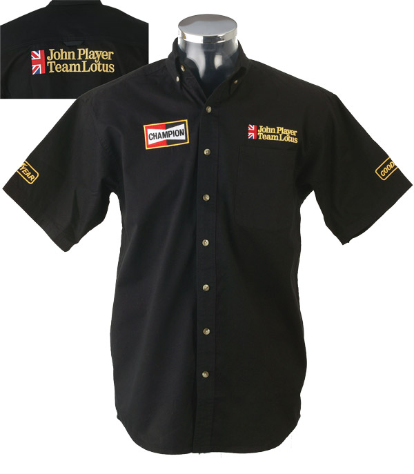 Pit Crew Shirts >> John Player Team Lotus Replica Race Crew Shirt